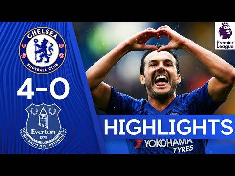 Match Report: Chelsea 4 vs 0 Everton – EPL Goals & Highlights Download - Connectley News