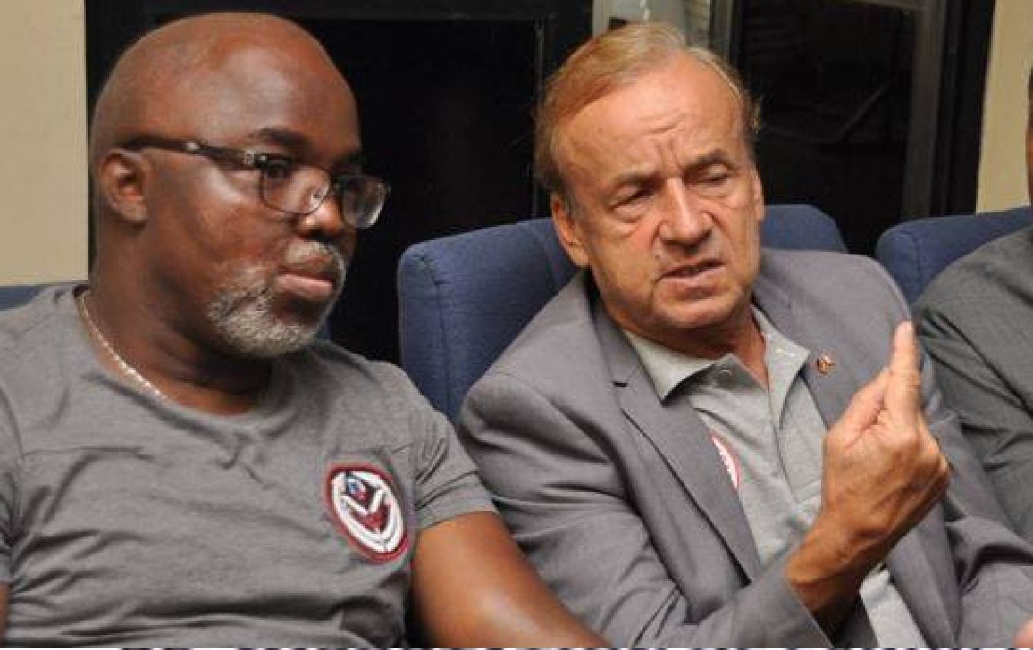 NFF speaks on report of COVID-19 in Super Eagles camp - Connectley News