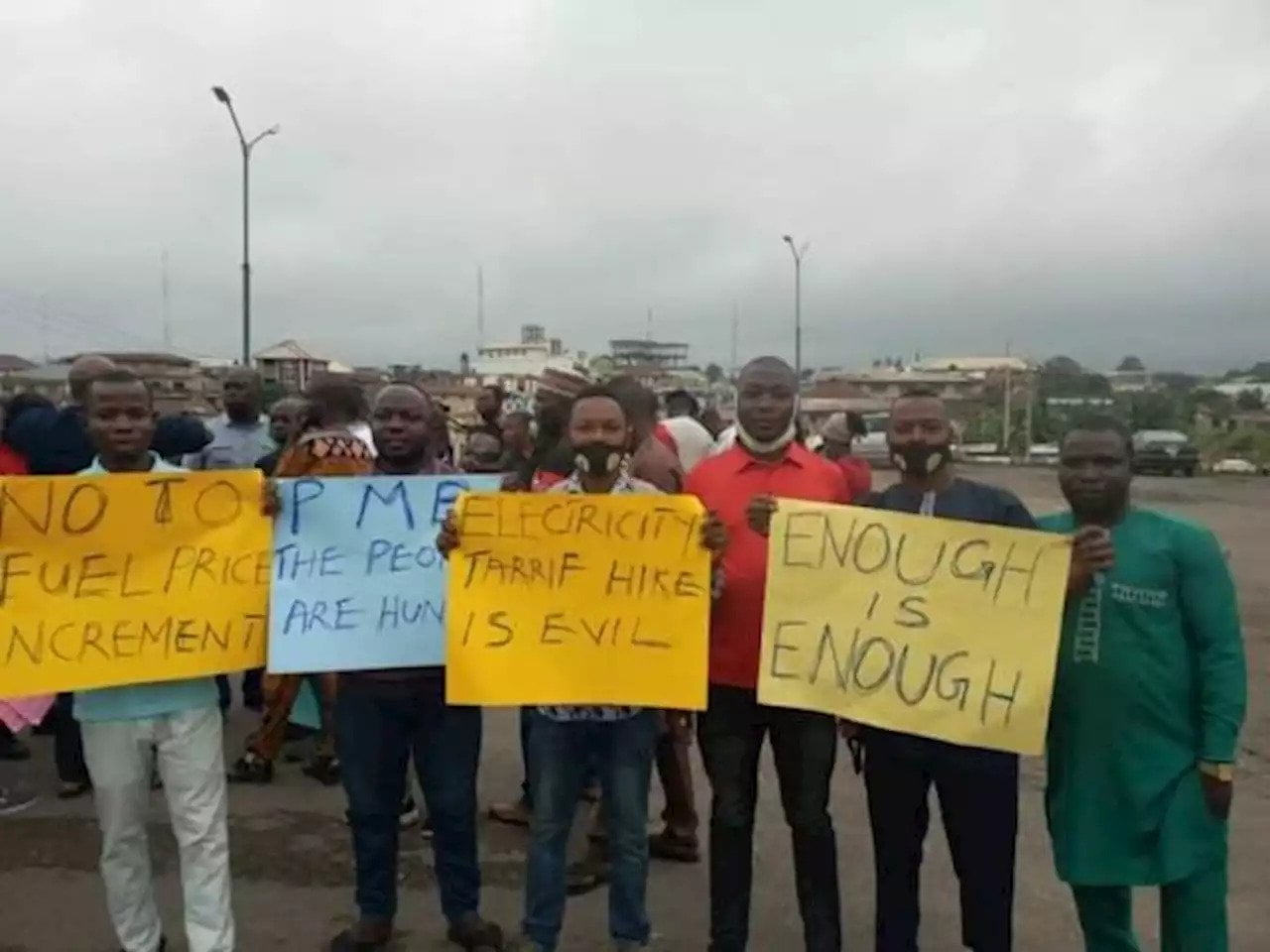 Students, Workers Protest Electricity, Fuel Hike In Ibadan, Osogbo - Connectley News