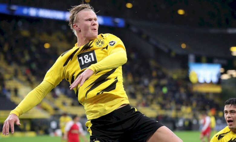 Bundesliga Report: Haland brace for Dortmund, Eintracht equalize Hoffenheim and takes the lead - Connectley News