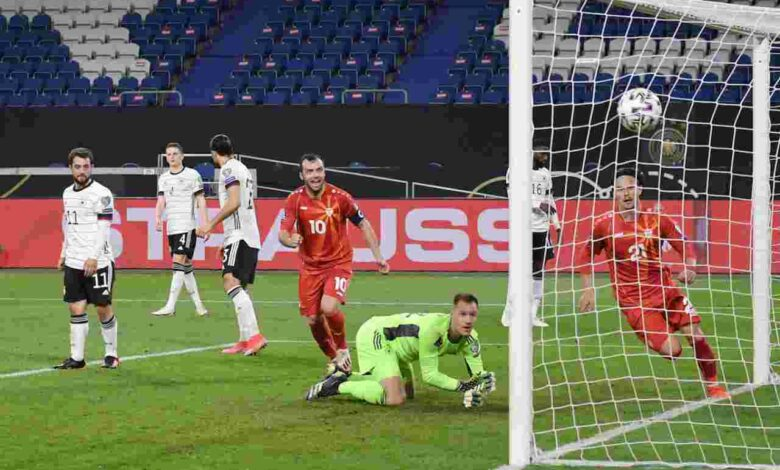 Germany suffer upset for the ages at the hands of North Macedonia - Connectley News