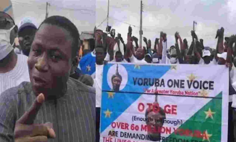 Oodua Nation Agitators Hold Protest On June12 - Connectley News