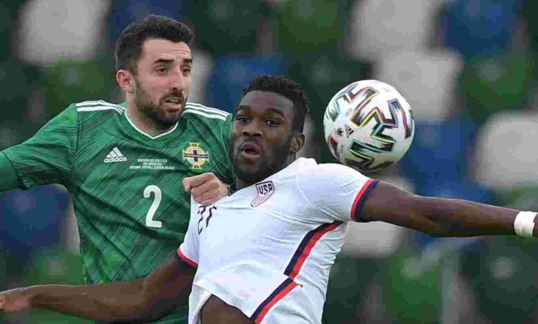 Nigerian-American Daryl Dike scores first goal for USA in big win - Connectley News