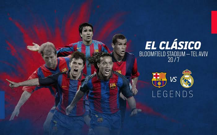 Watch and download: Barca Legends 2 vs 3 Real Madrid Legend (20-07-2021) - Connectley News