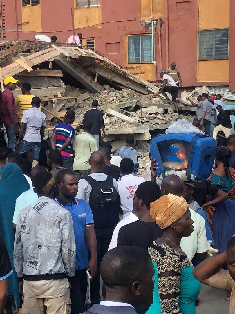 Lagos: Two-storey building collapses, kills owner - Connectley News